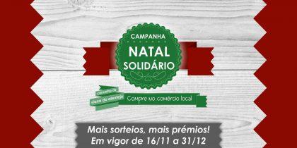"""Campanha """"Natal Solidário"""" com sorteio a 3 de dezembro"""