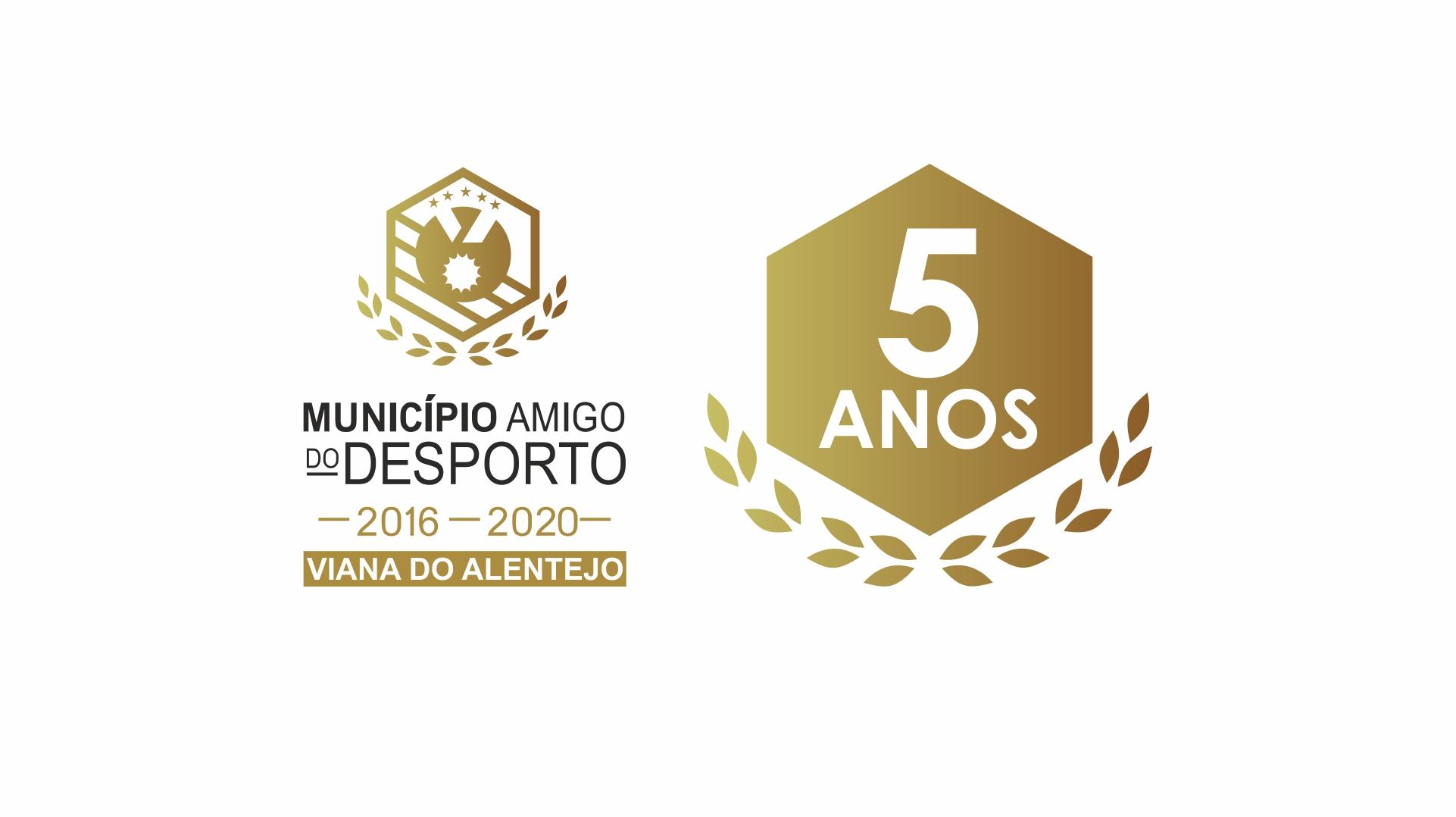 """Viana do Alentejo distinguido como """"Município Amigo do Desporto"""" pelo quinto ano consecutivo"""