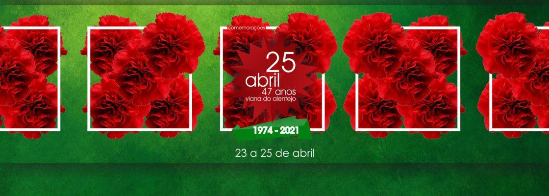 Município de Viana convida a celebrar abril a partir de casa