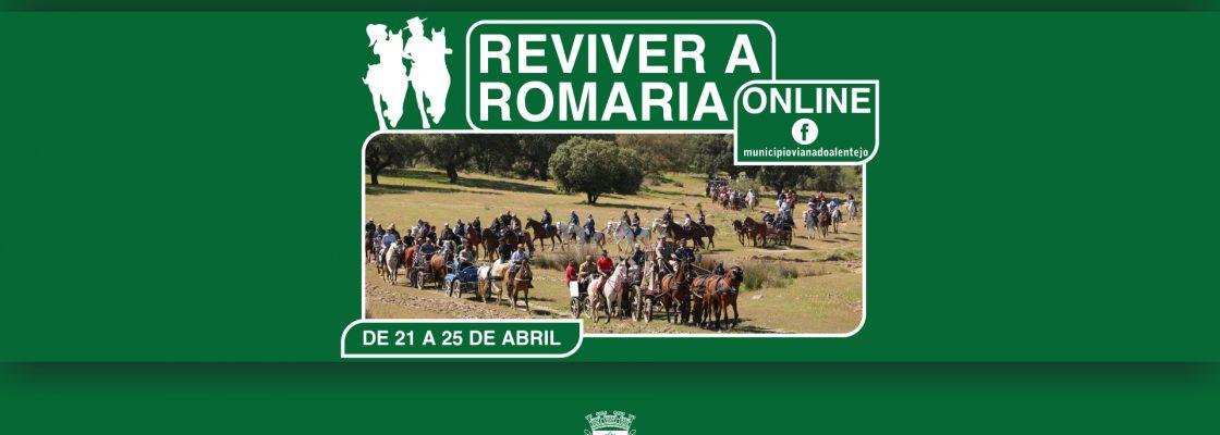 """Município de Viana com programa online para """"Reviver a Romaria"""""""