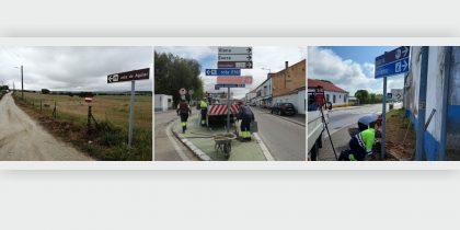 Município de Viana reforça sinalética rodoviária no concelho