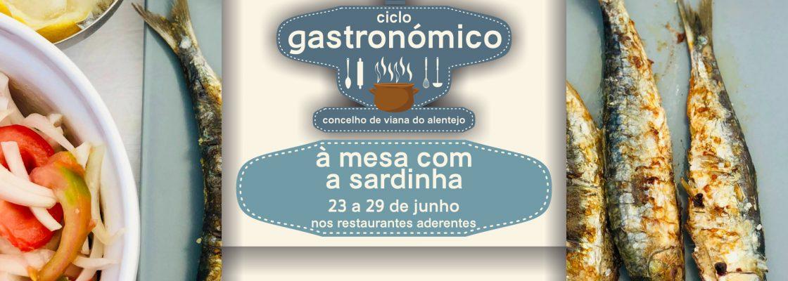 """Viana do Alentejo promove """"À mesa com a sardinha"""""""