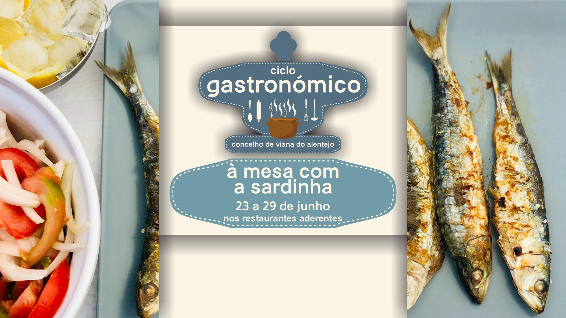 Ciclo Gastronómico – À mesa com a sardinha