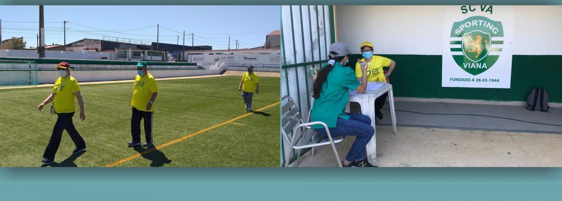 Clube de Saúde Sénior participa na Marcha Preventiva do Idoso