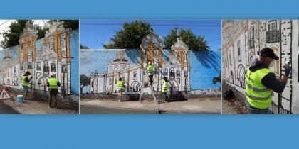 (Português) Autarquia de Viana recupera Mural D'Aires