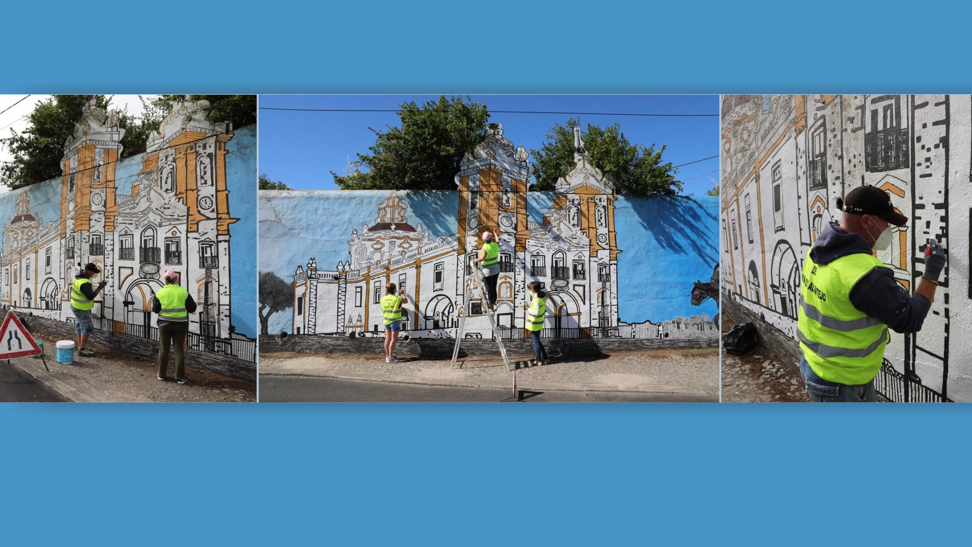 Autarquia de Viana recupera Mural D'Aires