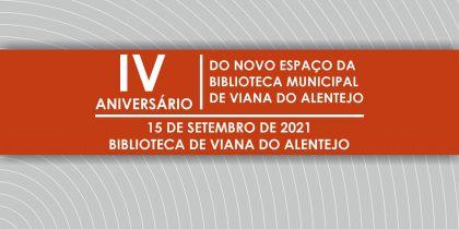 (Português) IV Aniversário do Novo Espaço da Biblioteca Municipal de Viana